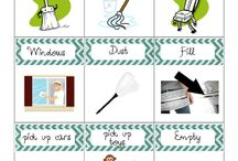 chore lists / by Kaci Denny