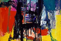 Abstract Expressionists / by Jennifer / Fiber Flux