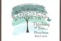 Cards — Thinking of You / by Lynn LaFleur