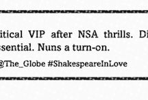 Shakespeare In Love  / Can you guess who the lovelorn character from Shakespeare is  in each lonely hearts advert ? / by Shakespeare's Globe
