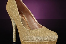 Gold Prom Shoes / Gold prom shoes are a classic for prom, parties, and weddings! You can't go wrong with metallic shoes, and gold is a warm hue choice that coordinates well with a variety of styles. Take a look at our favorite gold prom shoes! (P.S. These metallic shoes are great as wedding shoes, bridesmaid shoes, and going out shoes, too!) / by PromShoes.com