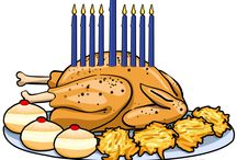 """When Holidays Collide / This is what happens """"When Holidays Collide""""!  You have to light your Menorah during your Thanksgiving dinner.   #Thanksgivukkah #Thanksgivukah #Hanukahgiving #HanukkahThanksgiving / by Traditions Jewish Gifts"""