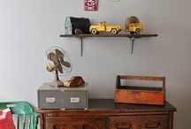 Boys Room / Decorating a boys bedroom vintage style / by Nicole Hastings Photography