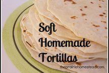 Tortilla/flatbread / by Audry Battiste