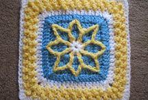 Blocks [afghan] to crochet / by Paulette Swim