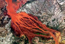 Beautiful satellite images of river deltas around the world / by Zhesi Wencai