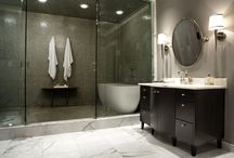 home style- bathrooms / by April House