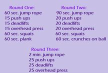 Workouts to try / by Misty Moreno