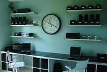 New Home Office / by Laura May