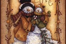 Snowmen / by Amy Pavel-Potts