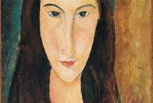 ART: Modigliani / by Greta Hansen-Money