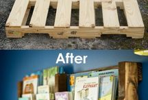 DIY with pallets / DIY with Pallets / by Allison Waken
