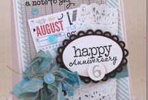 Anniversary Card Inspiration / by Patty Albertson