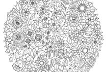 Anti Stress Coloring Pages / by Silvia Ramírez