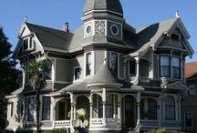Cabin & FarmHouse & Home  &Victorian House / by Mimie Ramos