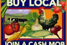 Cash Mobs / We love grassroots ways to support our local community. So we're jazzed about these Cash Mobs, where local consumers organize shopping trips to pump money & attention into a locally-owned business.  / by Firefighters Community Credit Union