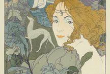 Georges De Feure - Poster Gallery  / Poster Gallery  / by Yaneff International Fine Art