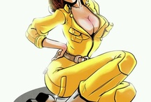 april o'neil (tmnt) / by Daiva Channing