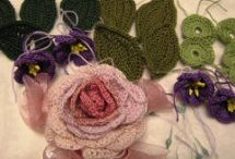 Crocheted flowers / by Judy R.
