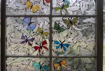 Crafts ... Stained Glass and Mosaic / by Cherie