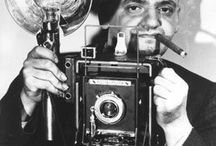 Photo - Weegee / Weegee a.k. Arthur Fellig (12.06.1899 – 26.12.1968), photographer and photojournalist, known for his stark black and white street photography. / by Karin Schröer