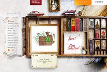 WEB design / by Maria Grushina