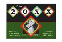Graduation  / Classy graduation invitations and gifts! Elegant or cool original designs for the graduate.  / by Modern and stylish weddings