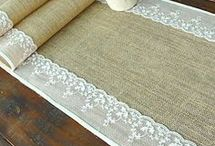 Table runners and placemats / by Gloria Clay