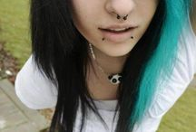 ♥ Emo style/hair ♥ / by Jéssica Ferreira