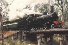 Trenes antiguos / by Manuel De Hoyos
