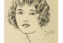 12 CLASSIC BOB CUTS - 1924 / The 12 classic bob cuts of the 1920s / by Glamour Daze