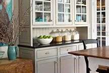 Kitchen ideas / Ideas for kitchen improvements & Things to better organize the kitchen.  / by Lori Herring