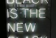 Black is the new Black | / by Tanja van Niekerk