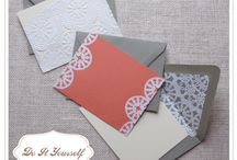 navy/gray/peach, doilies, linen and lace! / by Annamarie Akins