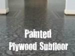 Painted Subfloor / by Kim @ Plumberry Pie