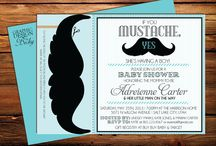 Mustache baby shower / by Nikesha Busby