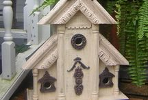 Crafting (Bird Houses) / by Vickie Tagatz