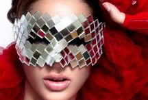 Masks / A beauty collection featuring beautiful masks interesting hair and makeup on gorgeous girls. / by Sherri Jessee