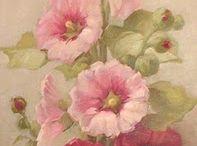 Art - floral. / by Jenni Jordan