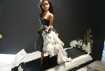 art deco cakes by gali & sugar florist / cake art and sugar flowers / by Gail Dinkel