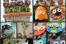 Owl birthday  / by Lacey Spears