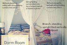 Dorm shizz / by Nessa Morgana