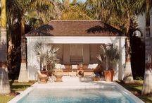 Pool & Cabana / by Leslie Latterell