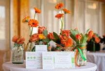 Green & Orange wedding / by Karen Cruse