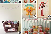 Birthday party ideas / by Jenn Cox