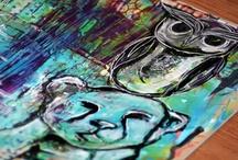 Art / Art, Drawings, Paintings, Mixed Media,  / by Ania Kozlowska-Archer