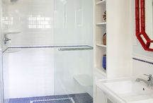 Bathroom / Small bathrooms. Decor and layout ideas.  / by Creative Wedge