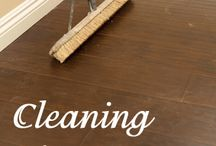 Cleaning / by Sarah White