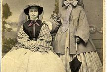 CDV - Women / Photos from 1860-1865 (more or less) / by Ruth Ann Clark