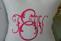 Monogrammed Items / by Rosemary Gran